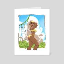 Savage Storm  - Art Card by ImmarArt