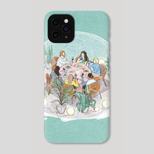 Microbiome for Foodies - Phone Case by Kathleen Fu