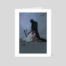 Fuck me like you hate me - Art Card by Zara -
