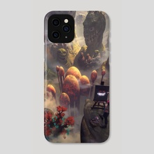 Stop Smiling - Phone Case by Steph Wootha