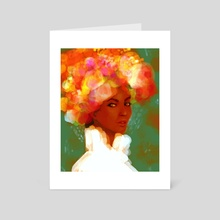 bloom - Art Card by Tatum Flynn