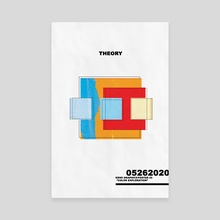"""""""Theory"""" - Canvas by Kenneth Thomas"""