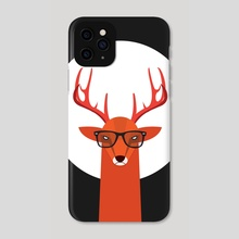 Ohh Deer - Phone Case by Volkan Dalyan