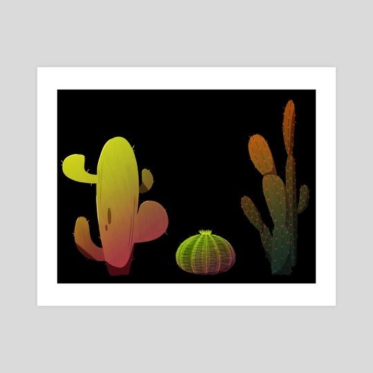 Cacti by Evan Csulik
