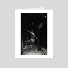 Garuda - Art Card by Mario Spagolla