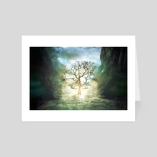 Brief is the light - Art Card by Marie-Claude Landry