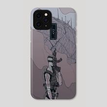Warrior I - Phone Case by Mario Carrascal