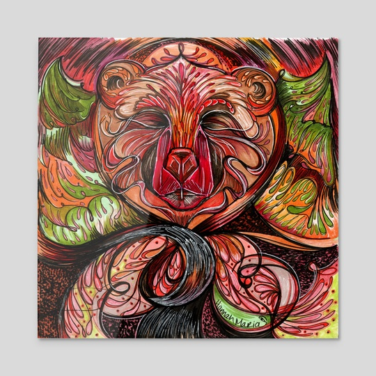 Gaer Bear by Hannah Maria