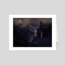 Lost chapter - Art Card by zahra Graficstudio