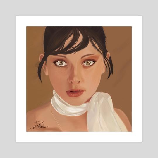 Susan Ojosdegato by David Aguilera Cobos