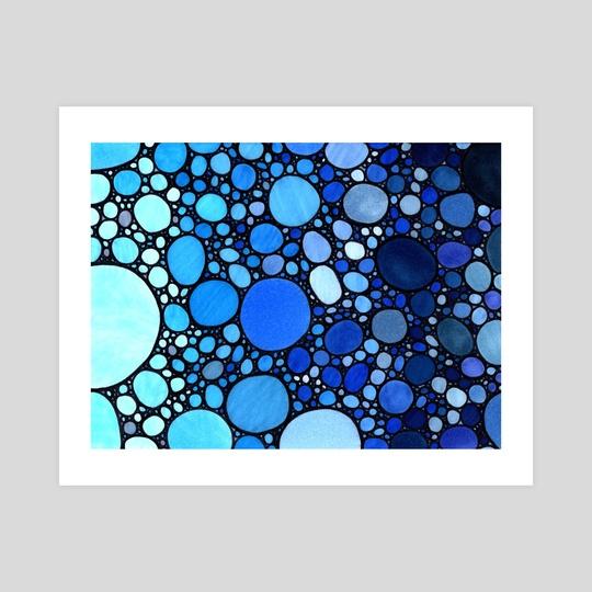 Blue Balls #1 by Marc Kusnierz