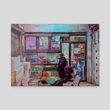 fishtank study - Acrylic by James Lee Chiahan