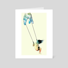 Swing Me Higher - Art Card by Matheus Lopes