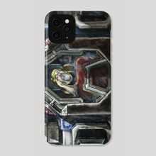 Moadebe - Battletech Portrait - Phone Case by Colin Mowat
