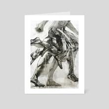 Run - Art Card by Tomasz Szkodzinski