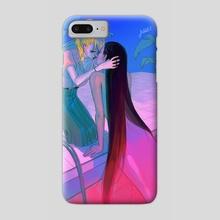 Wet Kiss - Phone Case by Amoona Saohin