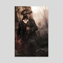 Plunder of Souls - Canvas by chris mcgrath