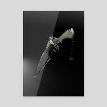 Gunblade - Sculpture Series - Acrylic by BDJ