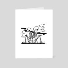 I Wish I Knew - Art Card by Darina Pavlova