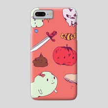 Sad Boi Stickers - Phone Case by Izzy Marbella