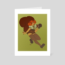 Squirrel Girl - Art Card by Days
