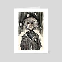 Dark - Art Card by Nour Hany