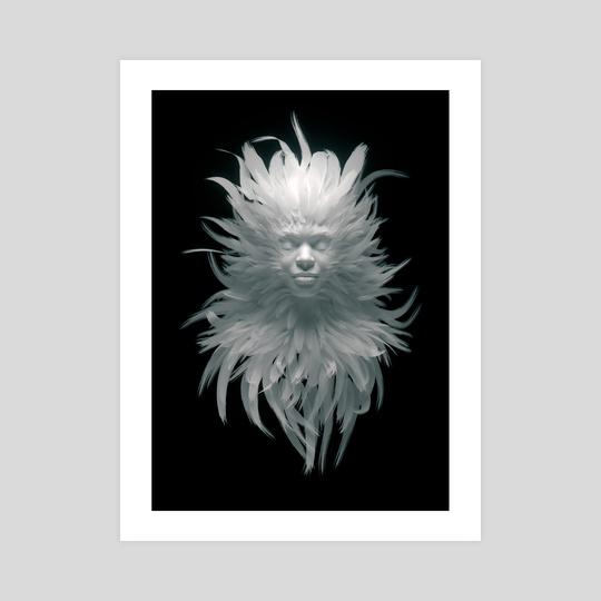 Feather N 01 by Jean-Michel Bihorel