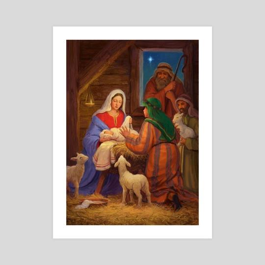 Nativity scene by Daniel Rodgers