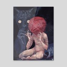 Sphinx - Acrylic by Myriam Tillson