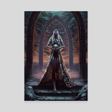 The oracle's duty - Canvas by Aszith / Lya