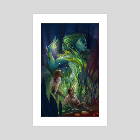 Forest Spirit by Katerina Myshalova
