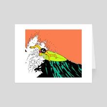 Surfin Bird 1 - Art Card by rvsa