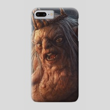 The Goblin King - Phone Case by Kerem Beyit