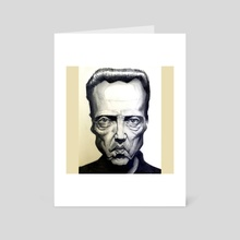 Walken - Art Card by Dylan Vermeul