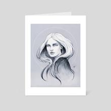Cocoon - Art Card by Nayla Smith