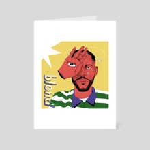 Blond - Art Card by 9ood Kiddo