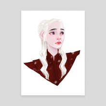 Daenerys' Downfall - Canvas by Lola Rou