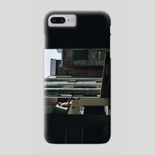 get down from there anthony wtf - Phone Case by Abdul Dremali