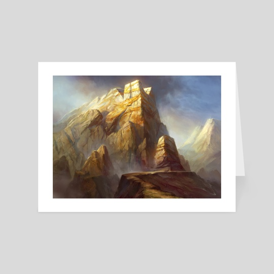 Mountain Theros An Art Card By Adam Paquette Inprnt