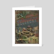 Delivery - Art Card by Yevgeniy Slobodenko
