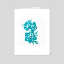 Hibiscus - Art Card by Jamie Nicole