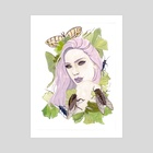 Cicaida - Art Print by Kathlyn Trozzi