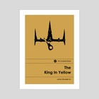 King in Yellow (Special Edition) - Art Print by Sam Lamont