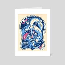 Cosmic Battle - Art Card by Jake Giddens