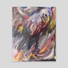 Abstract Eagle - Acrylic by Daniel Hernandez