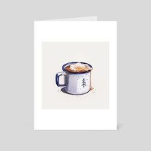 Hot Cocoa - Art Card by Heather Penn