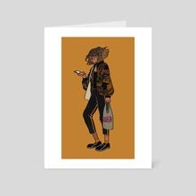 Street style - Art Card by Juliette Cousin