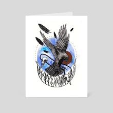 Harbinger - Art Card by Marta Szeliga