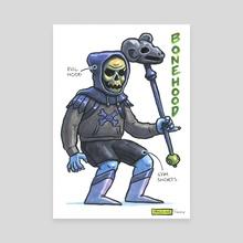 Bonehood - Canvas by Ugly Ink