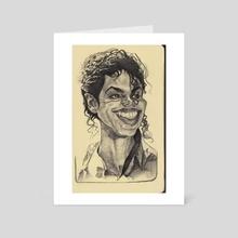 Michael Jackson - Art Card by Priyatham Sri